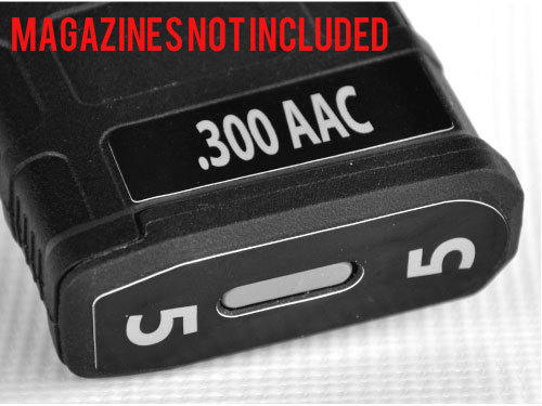 Ar M4 M16 300 Aac Mag Stickers Fits Pmag Gen M3 30 Round